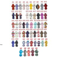 Wholesale lipstick supplies resale online - Printed Chapstick Holder Keychain Girl Lipstick Keychain For Party Favors Valentines Gift Lip Holder bag pendent party favor FFA4156