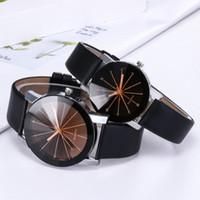 manchas de couro venda por atacado-Relógios das mulheres luxuosas dos homens dot Diamante Relógios Casual Spots Diamond Classic Leather Mens Relógios Moda amante Designer Casal Watch.