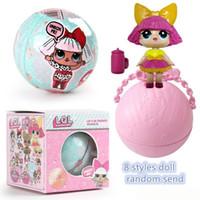 figura menina quente brinquedo venda por atacado-Hot vender meninas Dolls LQL Lil Irmãs Série 2 Deixa para ser amigos Figuras de Ação presentes boneca brinquedos do bebê crianças com Retail Box111