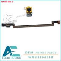 câmera shiping livre venda por atacado-A frente enfrentando câmera para xiaomi mi mix 2 mix2 câmera traseira traseira da câmera frontal flex cable shiping livre