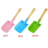 Wholesale colorful garden tools for sale - Group buy Mini Gardening Shovel Colorful Metal Small Shovel Garden Spade Hardware Tools Digging Garden Tools Kids Spade Tool