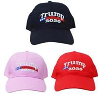 Trump 2020 Caps Donald Trump Cap Republican Adjust Baseball Cap Patriots Hat  Trump For President Sports Hat 3 color LJJK1031 207cb07b2cd5