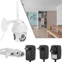 zoom wifi wasserdicht großhandel-Wasserdichte Wireless 5X ZOOM Outdoor CCTV HD 1080 P WIFI Kamera Bewegungserkennung Cloud Storage Home Überwachungskamera