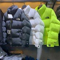 cardigans xxl al por mayor-Los 3 colores North Down de algodón acolchado chaqueta de la cara Cardigan puente Casual Sudaderas Deportes abajo alagodón suéteres y ropa para exteriores