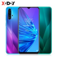 Wholesale big screen android mobile phones resale online - 6 Inch Waterdrop Smartphone Android GB GB MTK6580 Quad Core MP Camera mAh GPS WiFi G Big Screen Mobile Phone