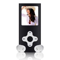 Wholesale mp3 player online - 8GB Slim Digital MP3 MP4 Player quot LCD Screen Music FM Radio Video Games Movie With Earphones Support Wholesales