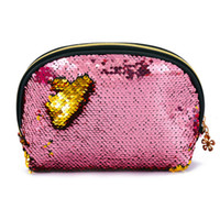 Wholesale large pencil case cosmetic bag for sale - Group buy New Shining Pencil Case PU Sequin Large Stationery Storage pen Organizer Bag School Office Supply Escolar Cosmetic Holder for gift