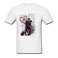 Deadly Love T-shirt Clowen Quinn T Shirt Men Tshirt Clown Woman Tops Sexy  Tees 80s Vintage Clothing Lovers Gift c3ffc6efe
