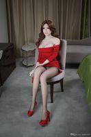 homem manequim sexo feminino venda por atacado-Nova arrivel de alta qualidade 140 cm boneca sexual de silicone real mulheres manequins realistas peito grande adulto sexy boneca japonesa amor boneca para homens sexo
