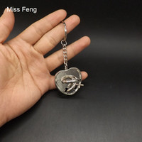 metalldraht herz großhandel-H251 / Classic IQ Metal Wire Cast Puzzle Denkaufgabe Magisches Herz Ring Spielzeug Für Kinder