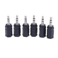 Wholesale 2.5mm 3.5mm adapter resale online - 3 mm Jack Stereo Socket to mm Jack Plug Audio Adaptor Adapter Converter