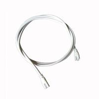 conectores de 24 pines al por mayor-Tubos de Led integrados Cable de alimentación 2 lados Pin 12 24 48 96 pulgadas Cable Conector T8 Tubos Conectores Tubos Enlace