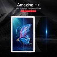 nilkin cam toptan satış-Huawei M6 10.8 için Cam Nillkin 9 H + 2.5D Ultra-İnce Temperli Cam Ekran Koruyucu için Huawei M6 10.8 Nilkin HD