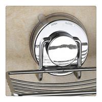paniers à savon en métal achat en gros de-Porte-savon en acier inoxydable avec porte ventouse pour montage mural, accessoires de salle de bains Nouveau
