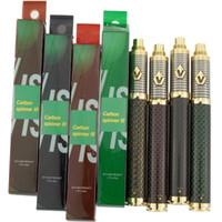 vamo mods de cigarrillos electronicos al por mayor-1650 mAh Vision Spinner 3 Batería E Cigarrillo Vape Pen 510 Hilo Voltaje Baterías ajustables Fit 510 atomizadores 4 colores disponibles