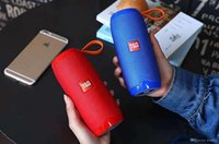 alto-falante bluetooth alto-falante sem fio hifi venda por atacado-TG106 Mini Speaker Bluetooth Estéreo de Alta Fidelidade Soundbox Altifalante Portátil Sem Fio Subwoofers Ao Ar Livre bluetooth speaker 2019 NOVO