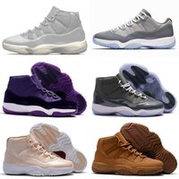 Wholesale mens basketball shoes for sale for sale - Group buy shoes Retro basketball Mens s for sale j11 Olive Orange White Platinum Wolf Grey Snakeskin kids XI sneakers boots