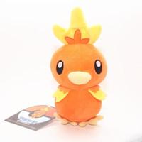 mudkip plüsch puppe großhandel-Torchic Treecko Mudkip Ash Ketchum Plüsch süße Anime Chick Claw Maschinenpuppe weiches hochwertiges Spielzeug
