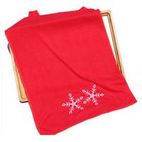Wholesale decorative hand towels for sale - Group buy Christmas Towel Santa Claus Snowflake Xmas Decorative Gift Hand Towels Ornament cm Towel home supplies
