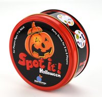 Spot It ! Halloween Board Game English Card Game with Metal Box Family Party