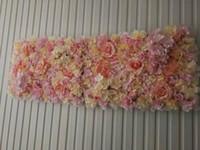 Wholesale background backdrop floor for sale - Group buy Artificial Flower Wedding Mat Decor Flower Wall Wedding Backdrop Decoration Background Mat Decor Wreath