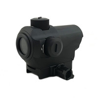 Wholesale Tactical CNC Machining D10 X27 Red Dot Sight MOA Hunting Rifle Red Dot Scope With mm Riser Mount Black