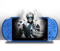 8gb mp3 mp4 player video al por mayor-X12 Reproductor de juegos portátil 8 GB de memoria Consolas de videojuegos portátiles con pantalla de color de 5.1