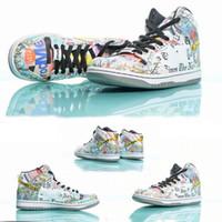 Wholesale sneakers nyc resale online - Graffiti letters men w2019 New designer SB Zoom Dunk High PRO NYC men baskteball Shoes For Men Women Athletic Sport Designer Sneakers