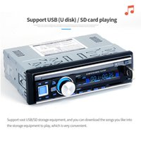 Wholesale phone control car resale online - Bluetooth Wireless Car Stereo Radio Audio MP3 Player In Dash USB FM SD AUX Microphone Remote Control Hands free Phone Calls