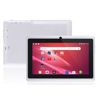 Wholesale hd quad core tablets online - 7inch Quad core android kids tablet pc Q8 Q88 allwinner M GB bluetooth HD tablets dual camera wifi