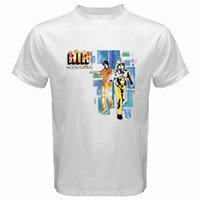 Wholesale french clothing sizes for sale - New AIR Moon Safari French Band Men s White T Shirt Size S M L XL XL XL Short Sleeve Cotton T Shirts Man Clothing