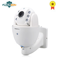 Wholesale camera sd ir ip for sale - FLOUREON P Wifi mm H Wireless SD Card Slot Bulit in Mic CCTV Security XZOOM IR CUT PTZ IP Camera EU