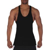 5bb1327c13c75 Muscleguys Gyms Vest Bodybuilding Clothing Fitness Men Solid Musculation  Stringer Tank Tops Blank Sleeveless Men Undershirt