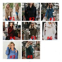 2430c99fb Wholesale Winter Button Sweaters Women - Buy Cheap Winter Button ...