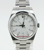 Wholesale gift certificate boxes resale online - Christmas gift Original box certificate Watches Unisex Watches Silver Index Dial Model UNWORN With Card
