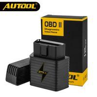 bluetooth otomatik tanılama toptan satış-OBD2 II ELM327 V1.5 Bluetooth Araba ELM 327 OBD Tarayıcı Otomatik Kod Okuyucu Tarama Teşhis Aracı Otomotiv İşlevli AUTOOL A5