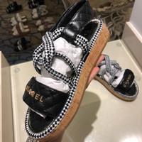 efaec79bb10 zapatos de goma para mujer al por mayor-Zapatos de verdad Cadena de cuero  deslizante