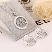 gümüş pırlanta taşlar toptan satış-Kadınlar Luxary Marka Takı Tasarımcısı Küpe Orijinal Pandora Için 925 Ayar Gümüş Kristal Elmas Kadın Saplama Küpe