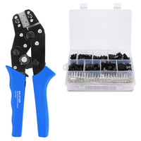 Wholesale wire strippers tools for sale - Group buy Freeshipping Sn Bm Xh2 Sm Plug Spring Clamp Crimping Tool Crimping Pliers Awg28 With Dupont Mm Pin Terminal Connectors