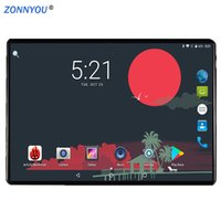 android tablette gps unterstützung großhandel-10,1 Zoll Android 8.0 3G Telefonanruf Tablet PC 4 GB / 32 GB Octa Core Dual-SIM-Unterstützung GPS Wi-Fi Bluetooth PC (schwarz) + Tastatur