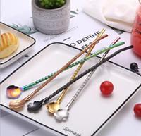 ingrosso acciaio freddo diretto-Fabbrica del cucchiaio della bevanda fredda del dessert del cucchiaio del caffè del cucchiaio della paglia dell'acciaio inossidabile diretta