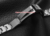 часы оптовых-Горячие продажи 21 мм Sea-Dweller Watch Bands ремешок из нержавеющей стали браслет пряжка развертывания безопасности складная застежка для 44 мм 116660 часы