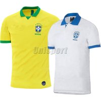 neymar jr brasil jersey al por mayor-Copa América 2019 Coutinho Gesus Firmino Camisetas de fútbol Copa de oro Futbol Camisa Brasil Fútbol Camisetas Camisetas Maillot Neymar Jr Brazil