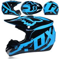 Wholesale dot racing helmets resale online - hot sale best seller motorcycle helmet mens moto bicycle helmet capacete motocross off road DOT ATV Dirt bike Downhill MTB DH racing