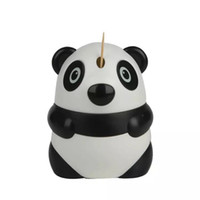 Wholesale free toothpick holder for sale - Group buy Automatic Toothpick Holder Cartoon Panda Design Cute Toothpick Dispenser Restaurant Table Decoration