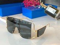 vintage rahmenlose sonnenbrille großhandel-100103 Fashion New Designer Sonnenbrillen Retro Frameless Sonnenbrille Vintage Punk-Stil Brillen Top-Qualität UV400 Schutz mit Box