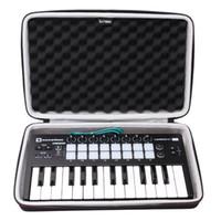 teclado duro al por mayor-Estuche rígido LTGEM EVA para Novation Launchkey Mini Teclado USB MK2 de 25 notas - Bolsa protectora de viaje con almacenamiento