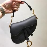 Wholesale shoulder sling backpacks for sale - Group buy 2019 Sale CChristian Female Saddle sling black female Fashion Hit Color Shoulder Messenger Satchel Tote Crossbody Bag