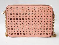 Wholesale tassel body chain resale online - Pink sugao crossbody designer handbags shoulder chain bag new pu leather designer luxury handbag fashion famous women messenger bag Hollow