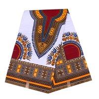 tecidos java print venda por atacado-Garantido Qualidade Frete Grátis Para Porta 6 metros 100% algodão Africano Java Cera Impressa Tecido Cera Africano Imprime Tecido